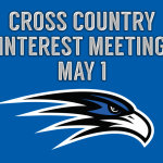 Cross Country Interest Meeting, May 1