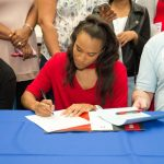 Five from Florence High sign to play in college
