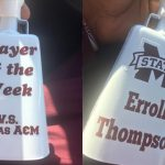 Erroll Thompson named Defensive Player of the Week in Mississippi State's win over Texas A&M