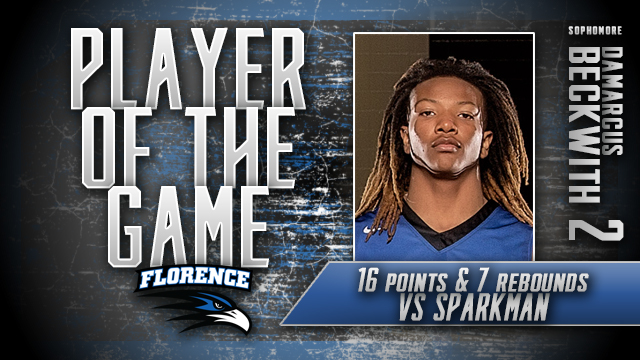 Damarcus Beckwith: Player of the Game vs Sparkman