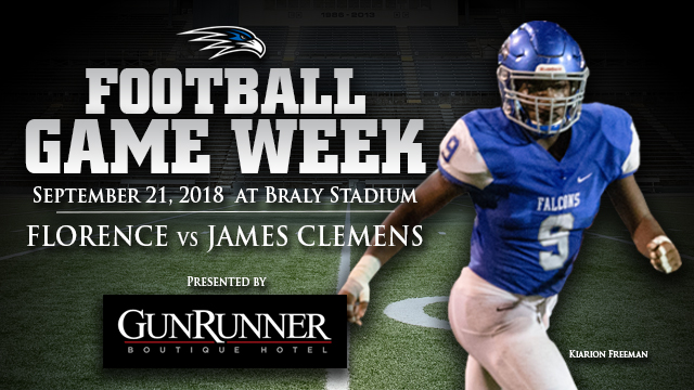 GAME 5: Florence vs James Clemens