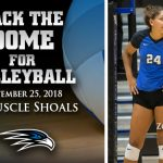 PACK THE DOME: Volleyball vs Muscle Shoals 9.25.18