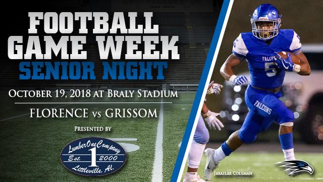 FOOTBALL SENIOR NIGHT: Florence vs Grissom