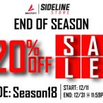 Sideline Store End of the Year Sale