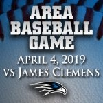 Area baseball game: Florence vs James Clemens