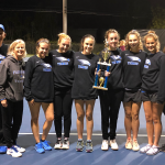 Girls tennis won the section 4 7A championship