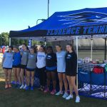 Girls tennis team at state finals: Day 1 recap