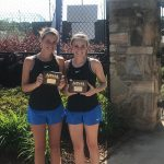 Ruby Cunningham & Isabel Mallette win state championship in doubles