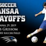SOCCER PLAYOFFS: Florence vs Grissom, April 29, 6:30 P.M.