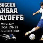 Boys soccer playoffs: Round 2 vs Bob Jones, May 3 at FHS