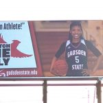 Jalexis Russell makes billboard for Gadsden State