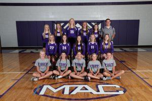 2017 Junior Varsity Volleyball
