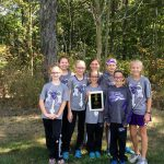Girls Middle School Cross Country finishes 3rd place at Best in the West