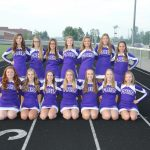 HS Football Cheerleaders