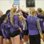 Girls Varsity Volleyball beats Franklin-Monroe 3 – 1