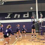 Girls Freshman Volleyball beats Parkway 2 – 0