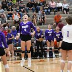 Girls Varsity Volleyball beats Coldwater 2 – 0