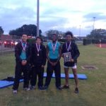 Mavs 4×400 Relay Capture Gold at District
