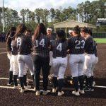 Girls Varsity Softball beats Humble 12 – 0