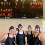 PMHS SWIMMERS win sprint meet at Shippey Aquatic Center