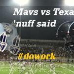 Mavs vs Texans Tonight!