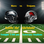 Mavs battle Trojans Tonight!