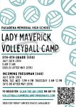 Lady Maverick Volleyball Summer Camp
