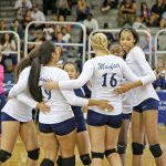 Volleyball completes undefeated league run