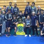 League MVP Real leads 9 wrestlers to individual titles