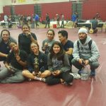Wrestlers close season at CIF