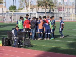 Boys soccer vs. Cerritos