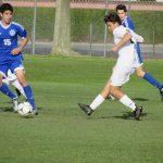 Lemus scores hat-trick to lead boys soccer