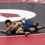 Wrestlers wrap up season at State