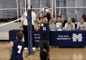 Mayfair vs. Bellflower Boys Volleyball