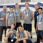 Volleyball finishes third in league on senior night