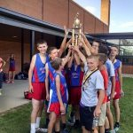 Highland Boys Middle School Cross Country finishes 1st place