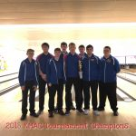 Boys Varsity Bowling finishes 1st place at KMAC Tournament