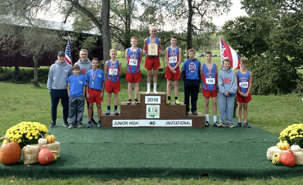 Middle School Boys Cross Country Wins OHSAA State Cross Country Invitational!
