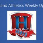 Athletic Updates:  April 8th-April 13th