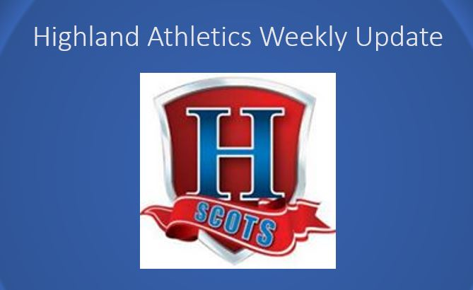 Athletics Update:  May 20th-May 25th