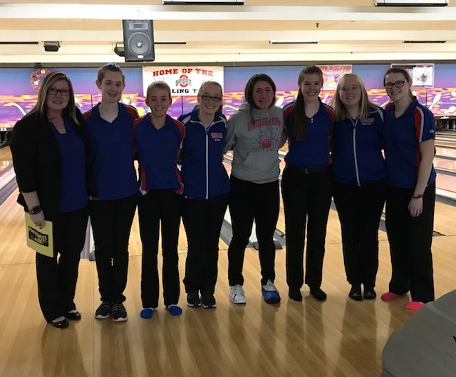 Girls Qualify for 1st Bowling State Tournament in School History!