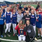 Girls MS Track Wins KMAC Title, Boys finish 4th