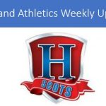 Athletics Update:  10/19-10/24