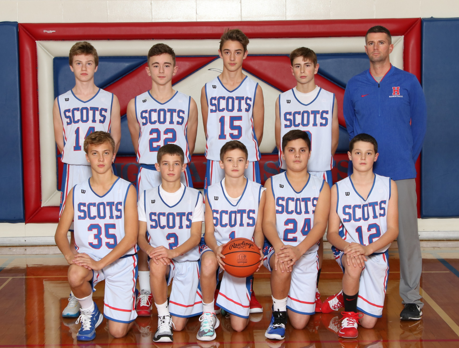 Boys 7th Grade Basketball beats Danville 49 – 26