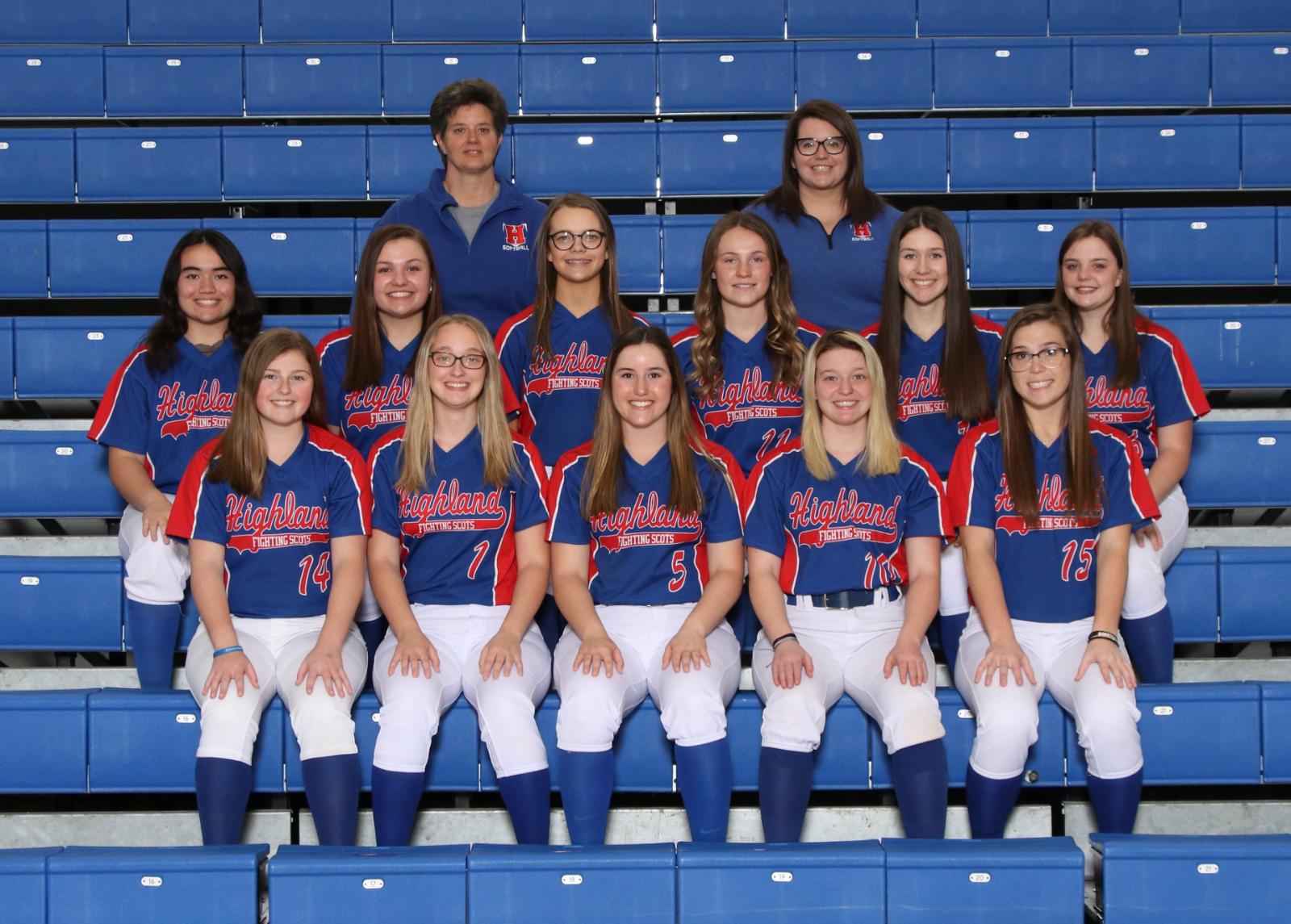 Girls Varsity Softball beats Mount Gilead 21 – 2