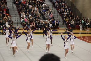 Competition Cheer Action