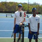 Cambridge High School Boys Varsity Tennis falls to Morgantown High School 10-9
