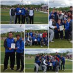 Cambridge High School Boys Varsity Track finishes 2nd place