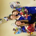 Girls Varsity Swimming finishes 4th place on Senior Night at Muskingum County Meet