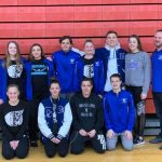 Girls Varsity Swimming sets several personal records at East District Sectional